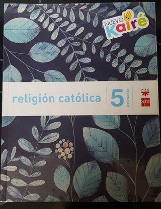 Libro RELIGIÓN CATÓLICA 5° primaria SM
