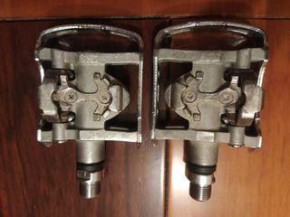 Pedales automáticos mixtos Shimano