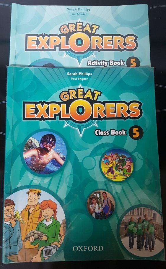 Libros INGLÉS GREAT EXPLORERS 5° primaria
