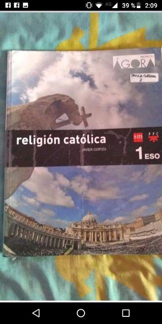 libro religión 1 ESO