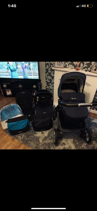 Silver cross pioneer travel system & Car seat