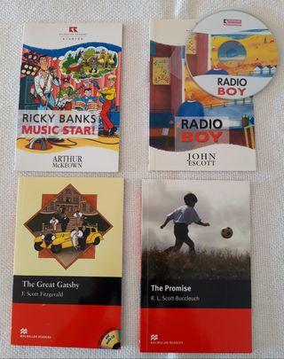 Pack 4 libros juvenil Inglés