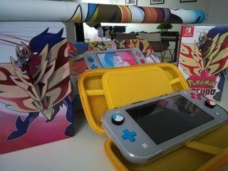 Nintendo Switch Lite Ed. Zacian & Zamazenta