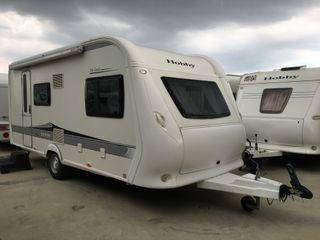 Caravana Hobby 490 kmf (GARANTIA)