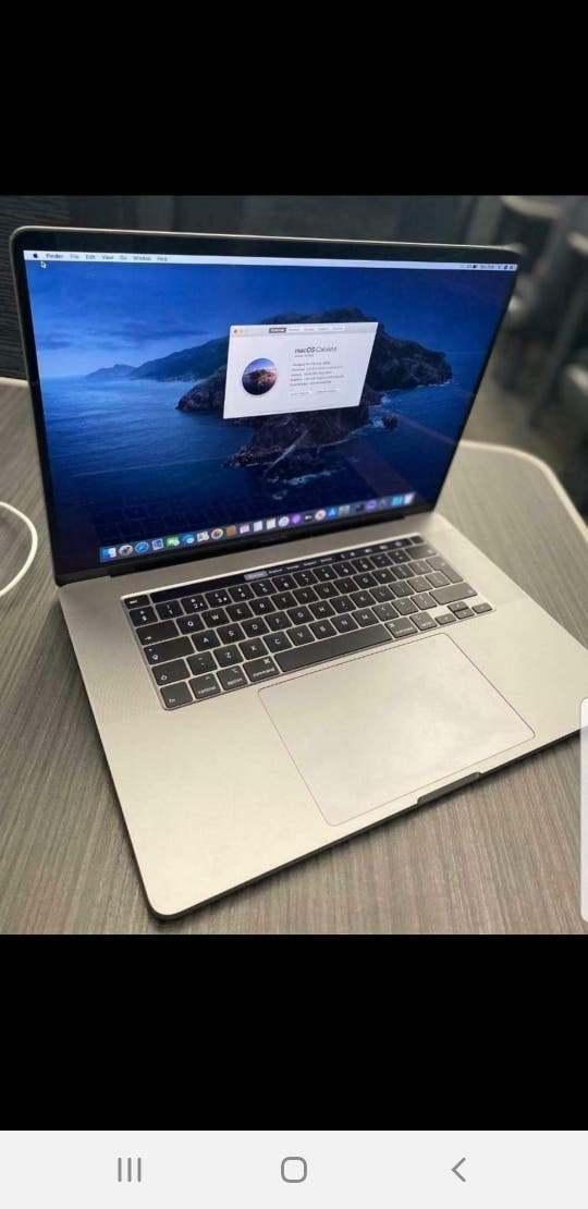 2019 apple macbook pro with touch bar