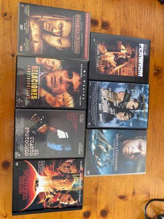 pac dvd cine accion y aventuras