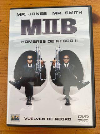 dvd hombres de negro II