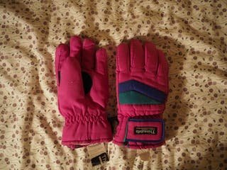 guantes nieve Thinsulate