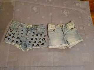 shorts Zara niña Talla 10 años