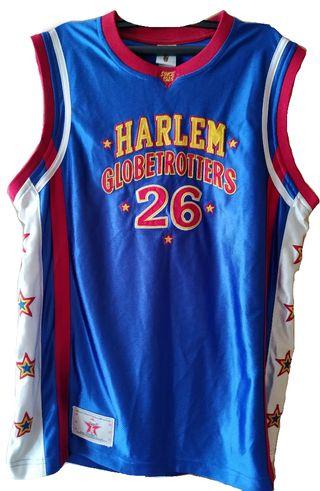 Camiseta de los Harlem Globetrotters