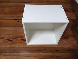 NUEVO Estanteria de cubo blanco EKET IKEA