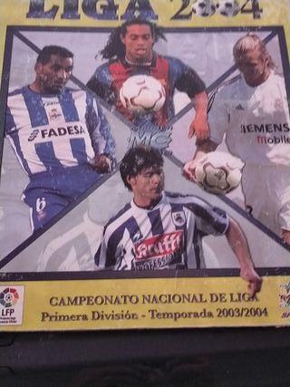 las fichas de la liga 2004-05