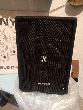 Altavoces Vonyx SL6