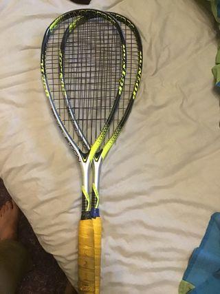 Raquetas de squash dunlop revelation 125