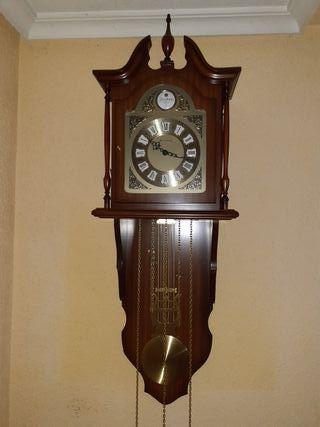 Reloj pared 3 péndulos Junghans en funcionamiento