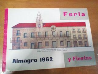 libro festejos Almagro 1962