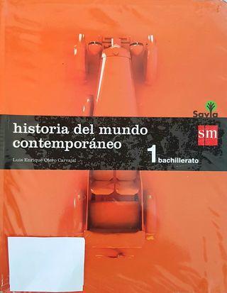 Se vende libro 1 Bachiller de Historia del mundo