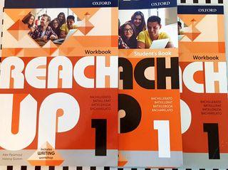 Se vende libro y cuadernos 1 Bachiller Reacher Up
