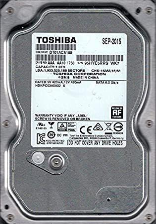 toshiba disco duro 1 tb 5v 420mA,12V 420m A SATA 6