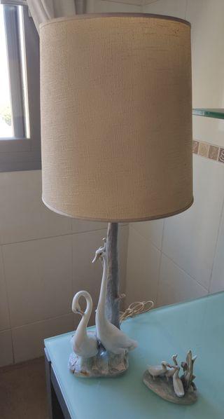 Lámpara de Cisnes Nao Lladró