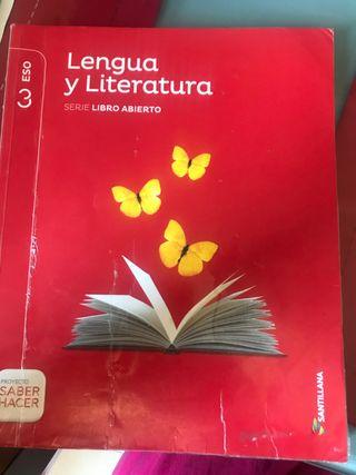 Lengua y literatura serie libro abierto santillana
