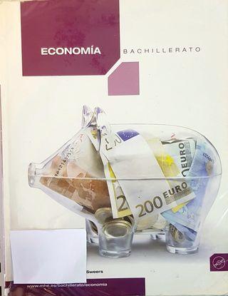 Se vende libro de 1 Bachiller Economia