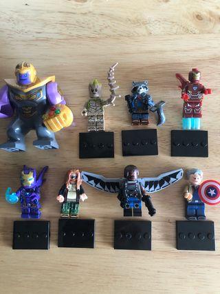 Marvel Lego Avengers Minifigures Bundle Toy