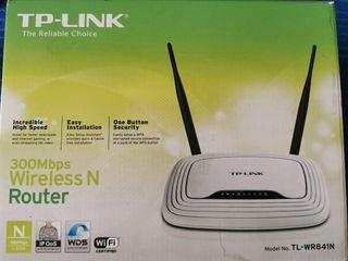 Router, TP-Link TL-WR841N 300 mbps