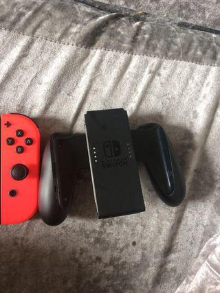 Nintendo switch plus 2x games