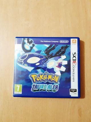 Pokemon Zafiro Alfa y Pokemon Y para 2ds y 3ds