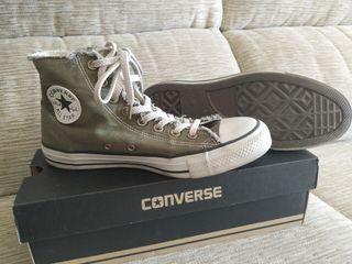 Zapatillas Converse verde oliva de segunda mano por 50 € en ...
