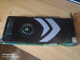 Gráfica GeForce 8800 GT 512M.