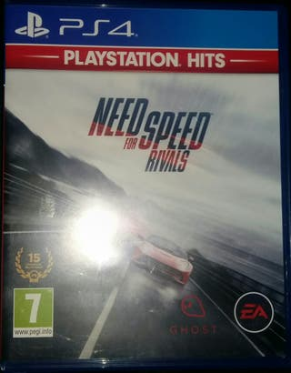 NEDD for SPEED RIVALS PS4
