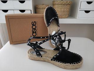Zapatilla sandalia esparto