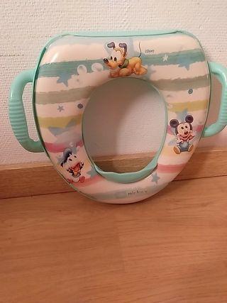 adaptador infantil de WC disney