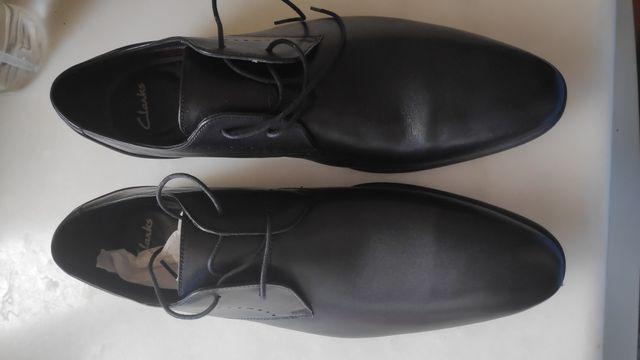 Zapatos vestir Clarks negros nuevos