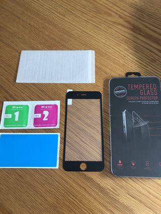 Protector pantalla iPhone 6, 7 y 8