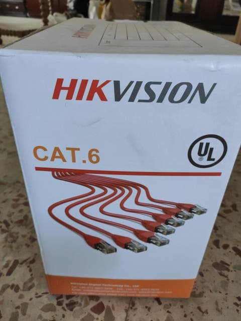 Cable Red Cat 6