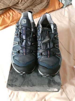 zapatillas SALOMON sin utilizar