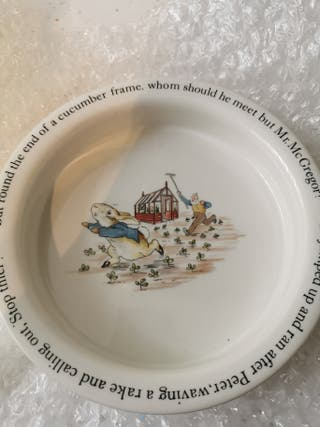 Peter rabbit bowl