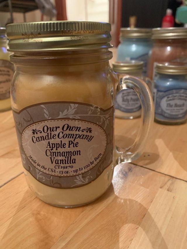 Apple pie cinnamon vanilla
