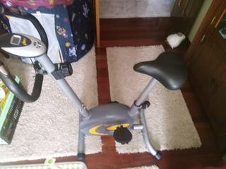 Bicicleta estática.