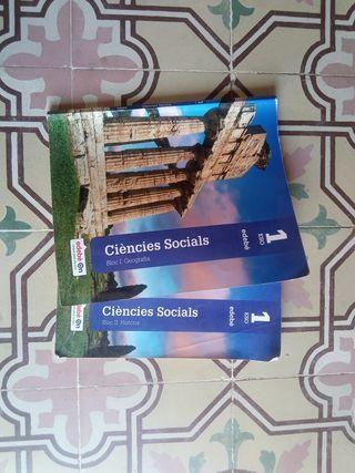 Ciències socials 1 ESO Edebé