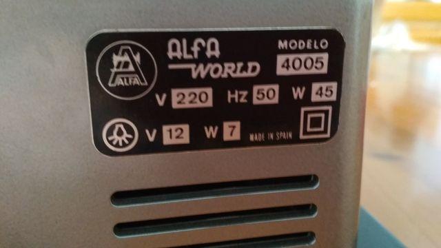 MAQUINA DE COSER ALFA WORLD 4005 de segunda mano por 50