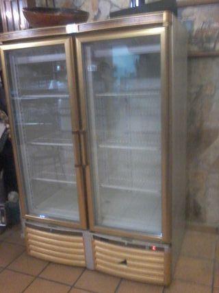 Expositor frigorífico 2 puertas