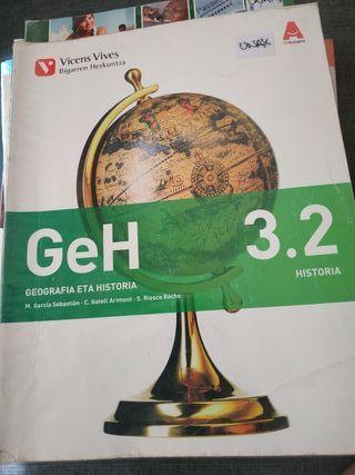 geografía eta historia 3 eso