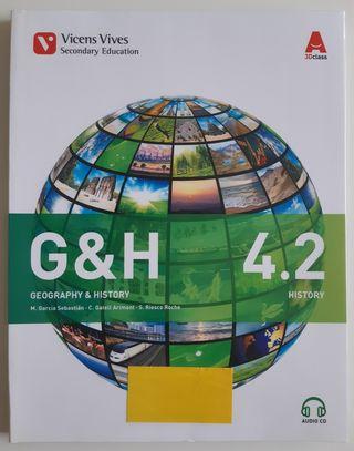 Libro Geografía e Historia 4°ESO en inglés 4.2
