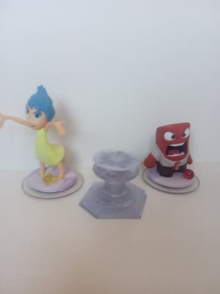 DISNEY INFINITY IN SIDE OUT, ALEGRIA E IRA