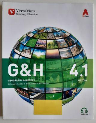 Libro Geografía e Historia 4°ESO en inglés 4.1