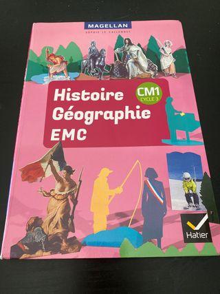 Histoire Géographie EMC CM1 Cycle 3. Hatier